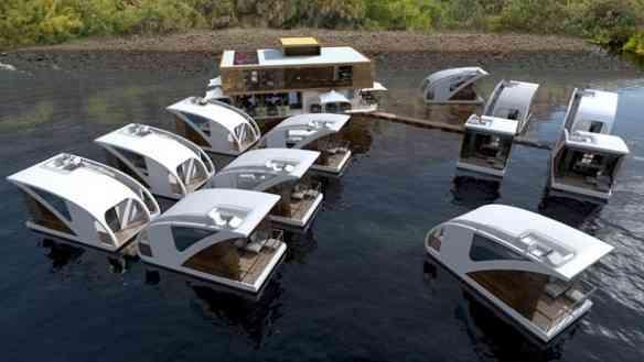 O conjunto hoteleiro maravilhoso e totamente integrado ao meio ambiente...