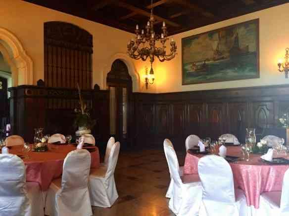 Detalhe de um dos salões do Xanadu: casa emblemática!