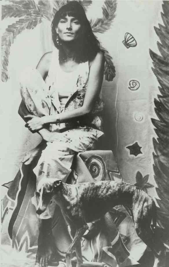 Esta é a linda Mucki fotografada em 1988...