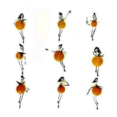 O ballet das laranjas!
