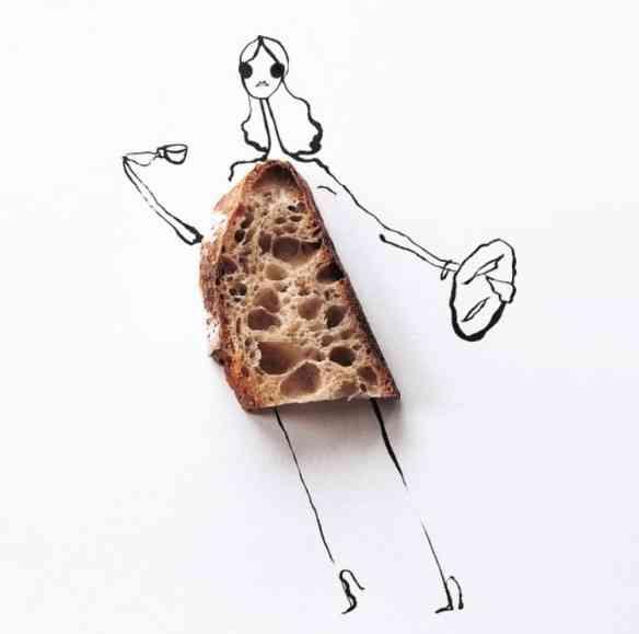 Seção carboidrato: o pão nosso...