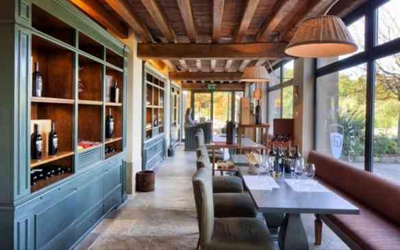 """Vejam que delícia pra curtir o """"vinho da casa"""" que é simplesmente um vero Brunello!"""