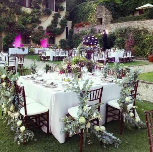 "Festa de casamento na maravilhosa ""Vila San Michele"", em Fiesole!"
