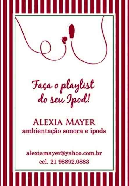 """Eis a salvação da nossa lavoura musical: Alexia e suas """"playlist"""" que aguardam aos ouvidos mais exigentes!"""