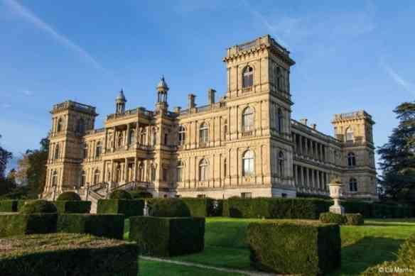 A beleza da fachada renascentista do castelo!