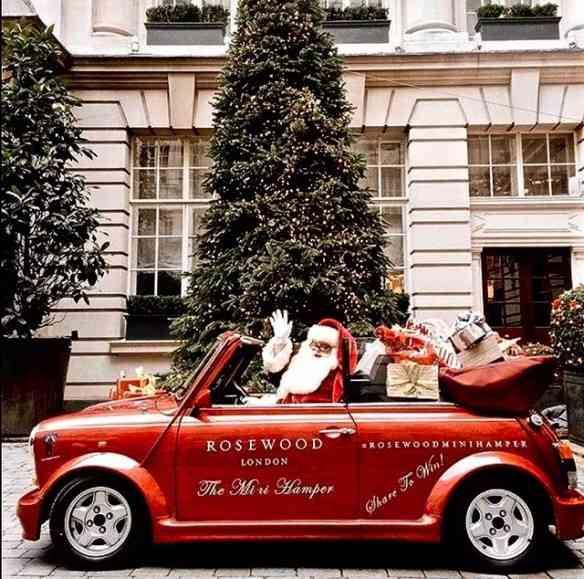 Amo também o Papai Noel mais moderninho... E motorizado!