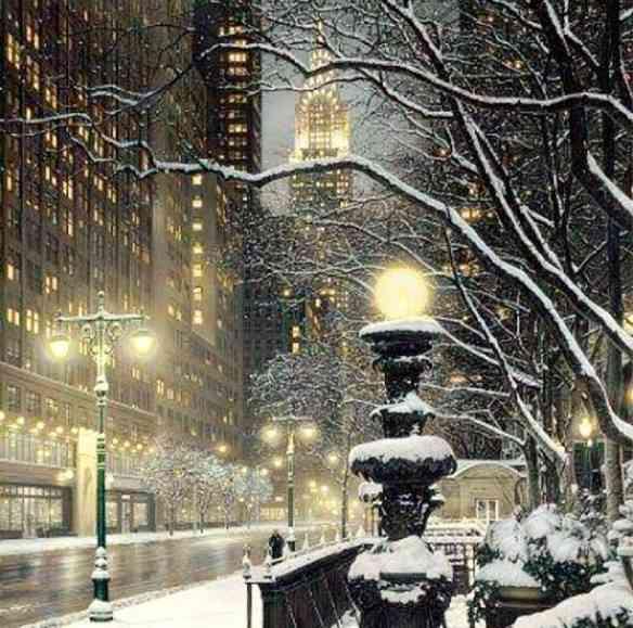 Cena do natal mais famoso do universo: de Nova York...
