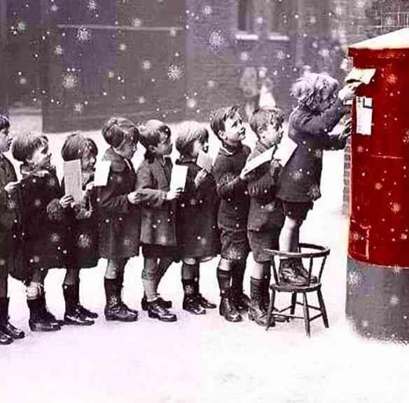 A magia do natal resumida nesta imagem linda...