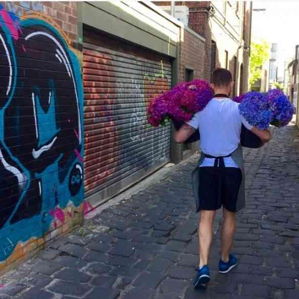 Mas nossas flores estão indo também por terra...