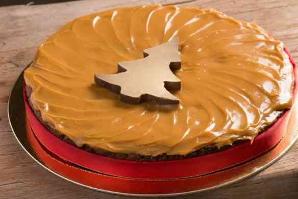 "Esta ""torta brownie"" natalina é muito linda!"