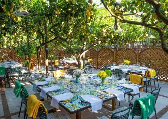 Capri table tiles lunch table setup diana sorensen sugokuii events