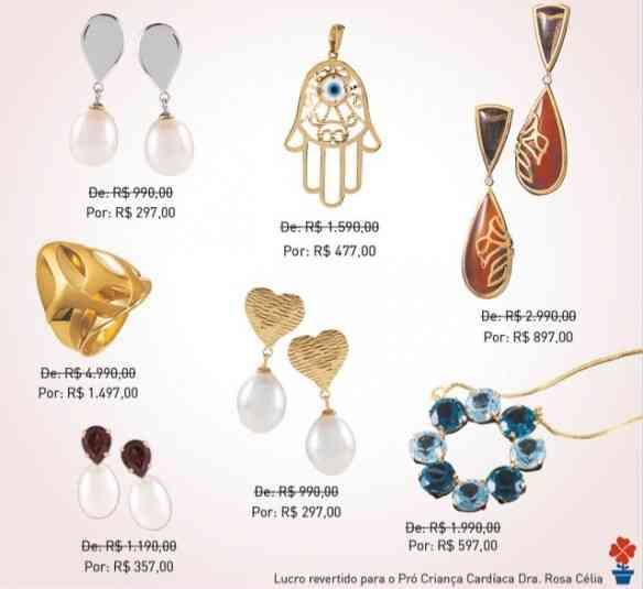 Pra vocês terem idéia da variedade de belezuras e a maravilha de preços!