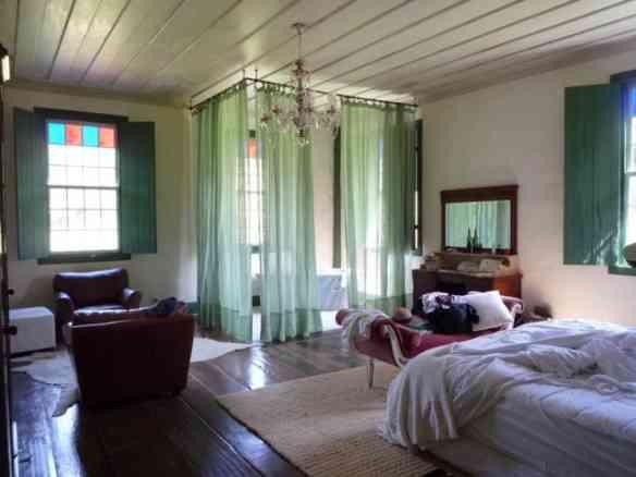 O quarto onde Carla dormiu...