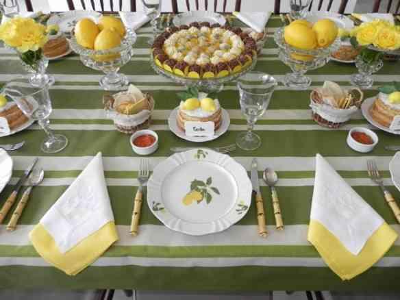Detalhe da mesa...