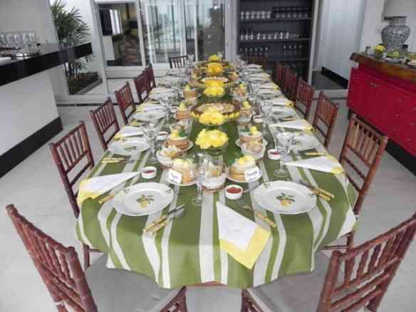 Look da mesa deslumbrante que Vinícius Mascaria produziu pra sua mãe: filho mara!