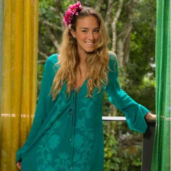 As túnicas da Mucki são lindas e cheia de astral como ela!