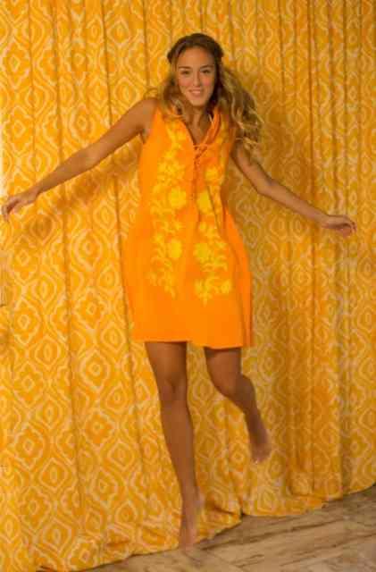 Outro vestido lindo...