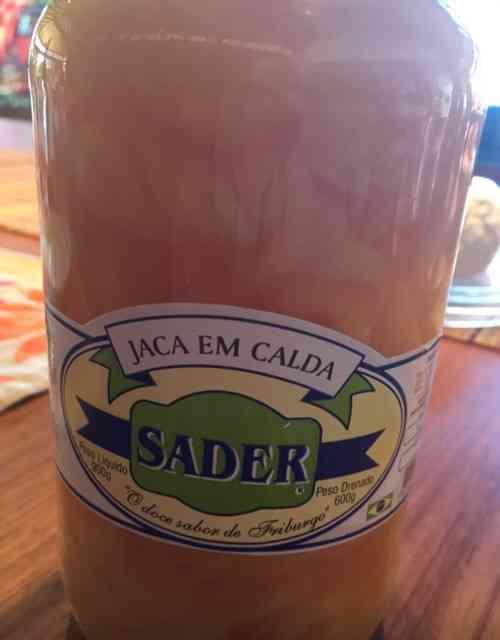 Minha atual tábua de salvarão: Doce de Jaca Sader... Maravilhoso!