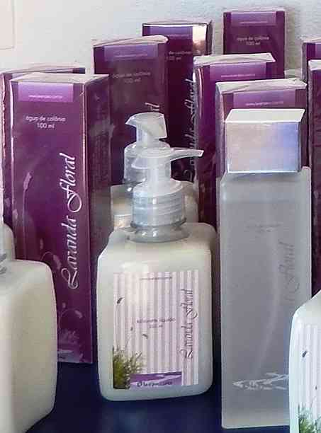 Produtos para banheiro... Todos de lavanda!