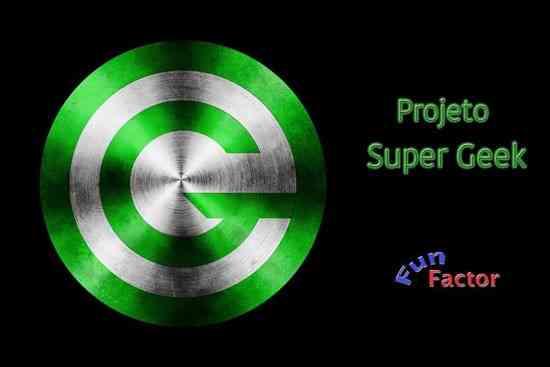 "Os logotipos do Projeto ""Super Greek"" e da ""Fun Factor"": visual!"