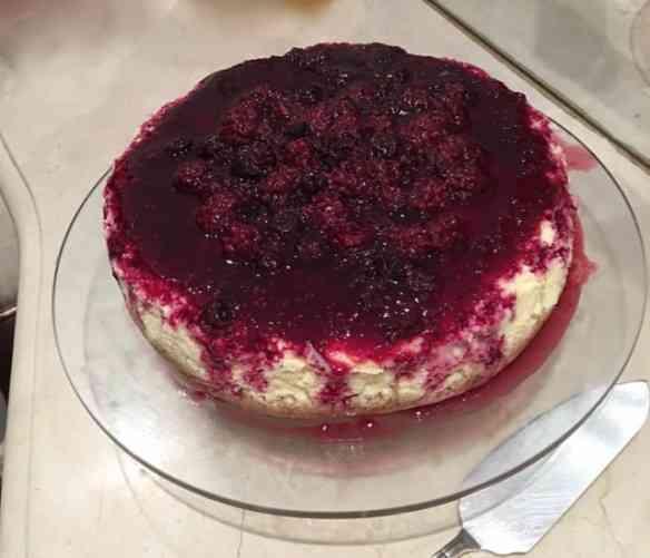 """Sou louca por """"cheese cake"""": além da delicadeza de tê-lo no """"menu"""", feito em casa é outra coisa!"""