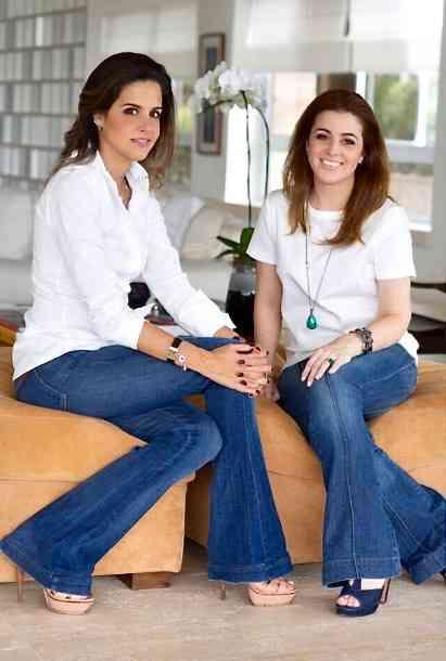 Estas são as maravilhosas Andrea Palhares Vasconcelos & Tatiana Severiano Ribeiro Baez: Elas sabem tudo e (por isso) conceberam a ETIQUETA: Oba!!!