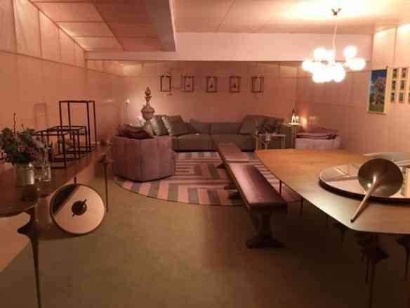 """A """"Casa Braile"""" de Leo Romano, promete ser, além do mais, uma experiência sensorial: original! (Quando fui, ainda não pode-se entrar no ambiente)"""