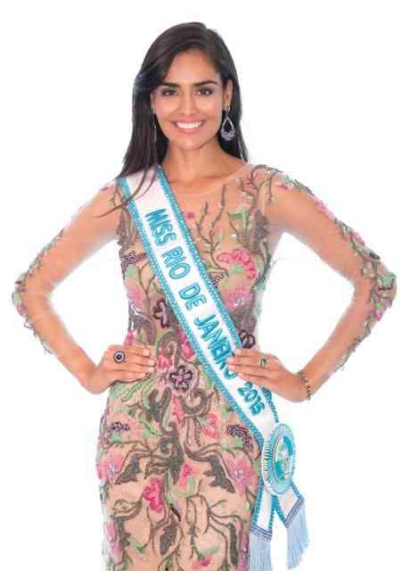 A beleza de Nathalia Pinheiro, Miss Rio de Janeiro 2015, mostrando para nós, as belezuras by LIOR, pro dia dos namorados!