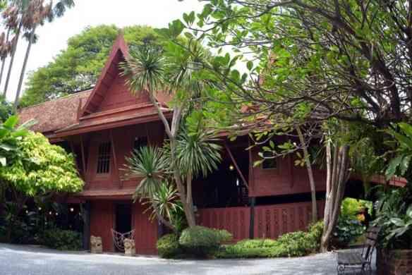 A linda casa de Thomson, em Bangkok, hoje museu!