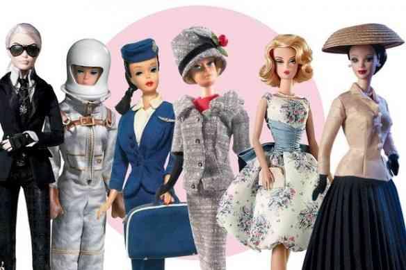 """Astronauta, aeromoça ou musa de Dior e seu """"new look"""", nossa Barbie muda de roupa pra estar sempre conectada!"""