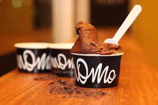 Momo Gelato - Gelato Cioccolato Fondente da Fazenda Sagarana sem lactose (2)