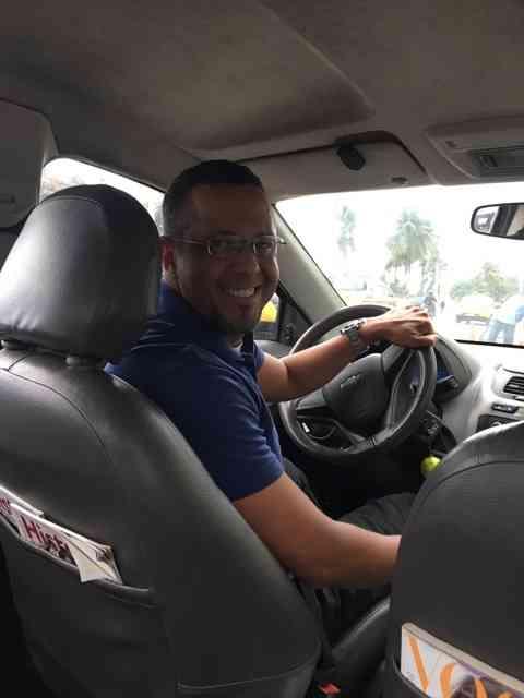 Eu vos apresento o guia turístico mais simpático do Rio: Fabio Dutaxi!