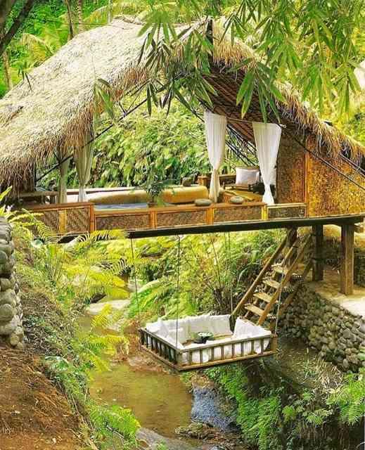 Amei esta versão arejada... Na África não rola, mas na selva da minha infância, cairia como luva!