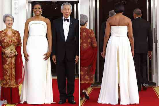 michelle-obama-brandon-maxwell-dress