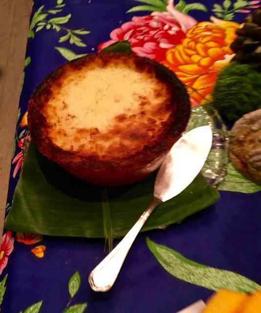 Este bolo de aipim, especialidade da família de Patrícia, é um poema a ser aprendido. De cor!