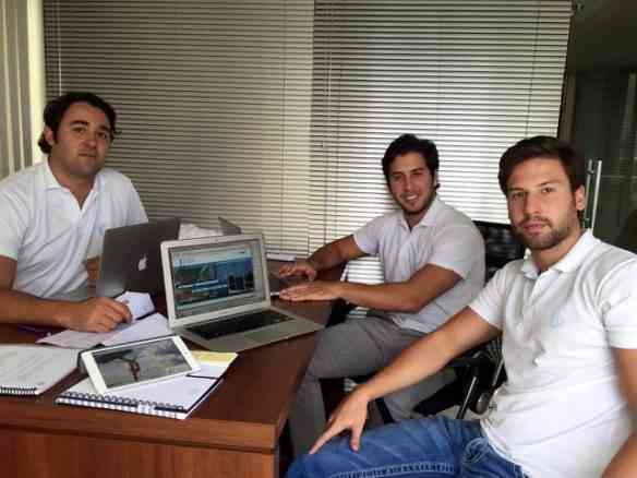 D, Antônio Venâncio e Marcos Freire são os jovens e competentes empreendedores que conceberam a BLIM!
