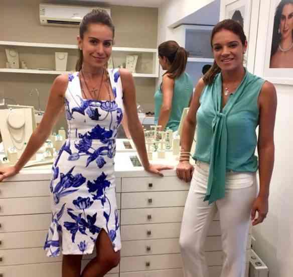 As queridas Nathália & Renata: lindas e competentes!
