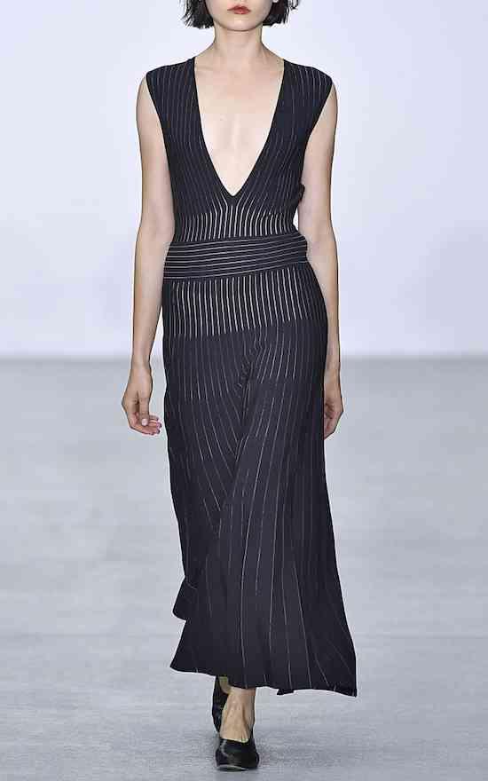 large_barbara-casasola-black-tribal-v-neck-sleeveless-knit-dress