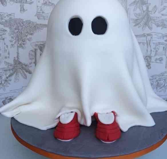 """E esta fofura master que Maria Celina fez para a festa de """"halloween"""" do colégio de seu filhote: maravilha!"""