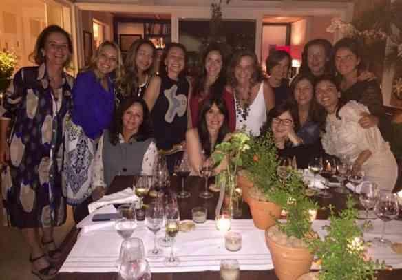 Noite muito feliz, sob a batuta de nossa musa e grande mestra do mundo dos vinhos, Lolo Borges!