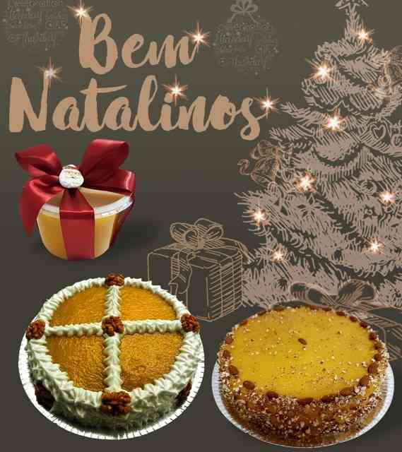 As tortas são divinas... Até a calda vem lindamente embalada: luxo só!