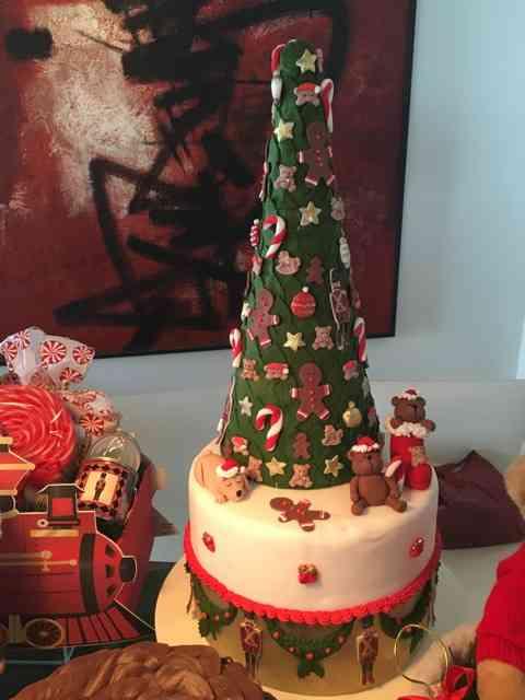 Vejam que bolo de natal lindo!