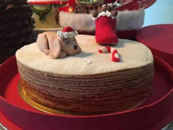 Que tal este bolo de rolo vestido para natal? Amo a idéia de dar um toque brasileiro na nossa ceia!