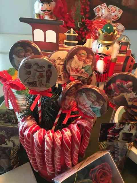 Outras lembranças de natal, também charmosérrimas!