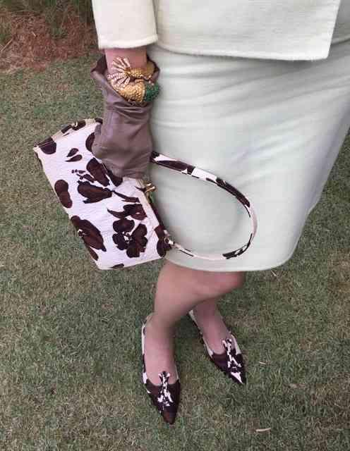Surtei com esta dupla de sapato e bolsa: também do Oscar!