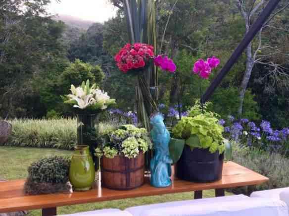 A gente entrava e saia sem distinção de jardim e casa: muito bem integrado!